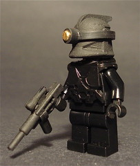 Urban Combat Stealth Armor (mike 3579) Tags: lego minifig airbrush brickarms brickforge weaponmod