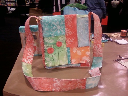 Purse I made with Sticky Back Canvas