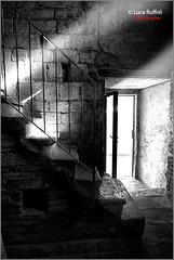 Stairs in the dark...BW (LUCA RUFFOLI - www.lucaruffoli.it) Tags: scale stairs blackwhite bn distillery blackdiamond nikond200 topseven colorphotoaward nikkor1424mmf28 artedellafoto wwwlucaruffoliit lucaruffoliphotographer campaniledipeccioli