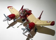V-22 Phoenix 10 (JonHall18) Tags: plane fighter lego aircraft fantasy scifi moc skyfi dieselpunk dieselpulp