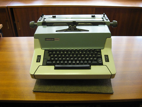 East German Robotron 202 Typewriter from the DDR Museum