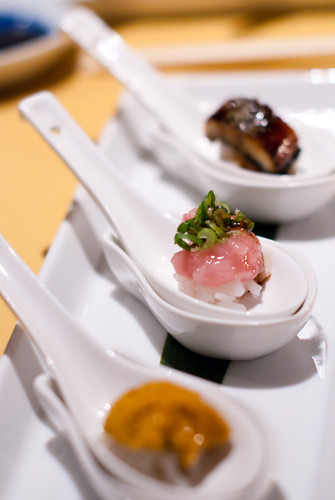 Sushi - Uni, Toro, Unagi