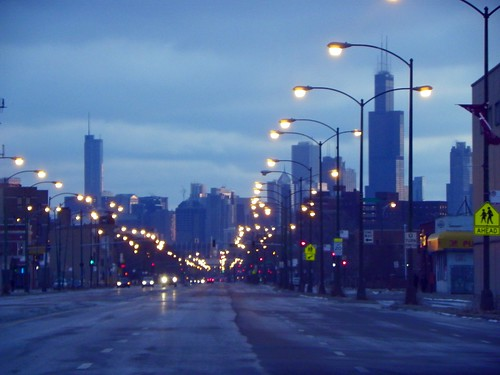 1.30.2010 Chicago sunrise