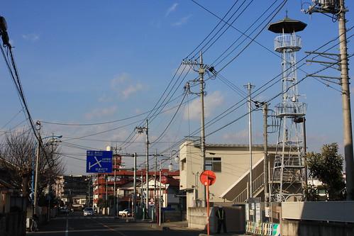 元町の火の見櫓