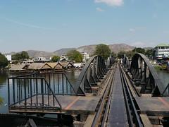 Bridge on the Kwai river (olaszmelo) Tags: river thailand kwai kwae