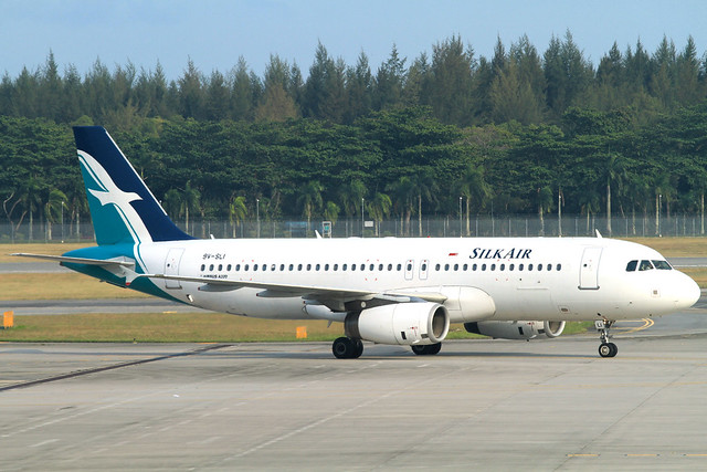 SilkAir A320-200(9V-SLI)