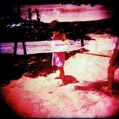um passo em frente e... (gleicebueno) Tags: holga memories crossprocessing future dreams es superia100 past mangue praiagrande c41 duplaexposição
