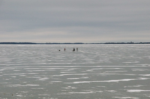 Lake Ontario is frozen