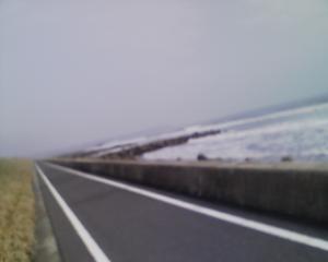九十九里浜ぞいのサイクリングロードいいかも