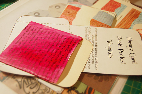 My own library pockets (Photo by iHanna - Hanna Andersson)