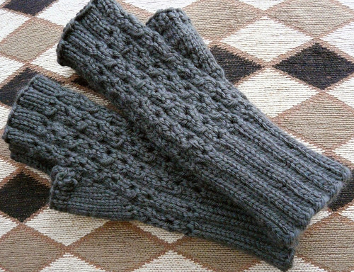 Matching mitts for Lu