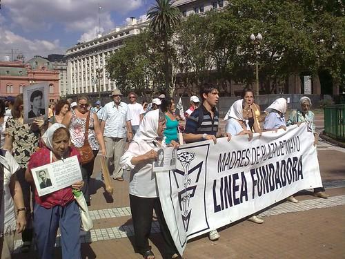 Madres en la Plaza de Mayo