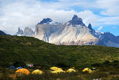 """Cuernos del Paine, National Park """"Torres del Paine"""" - Patagonia / Chile (www.marcel-sauer.de) Tags: chile camping people panorama patagonia nature germany munich münchen landscape fun deutschland nationalpark nikon dof bokeh outdoor hiking diary hike depthoffield 1870mmf3545g torresdelpaine polarizer tagebuch cuernos wandern 1870mm wanderung 1870 wideopen thew polfilter patagonien soremuscles d80 cuernosdelpaine muskelkater bigaperture bokehwhores marcelsauer parcnationale blistersandpain hoyapro1digitalcircular"""