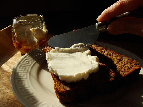 Carrot Banana Bread: Spread