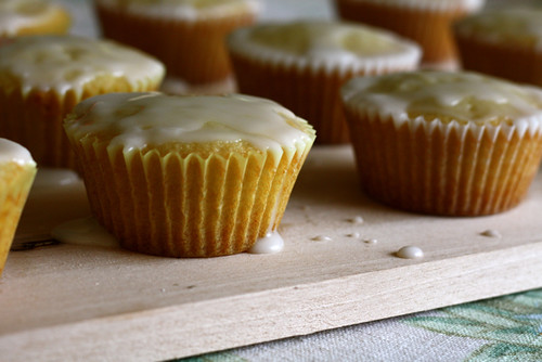 Little Lemon Hazelnut Cakes