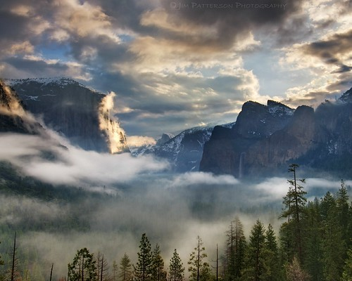 Misty Morning - Tunnel View, Yosemite National Park, California