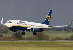 EI-CSQ - 29930 - Ryanair - Boeing 737-8AS - Luton - 070309 - Steven Gray - CRW_4663