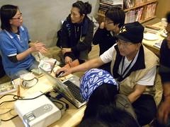 台灣環境資訊協會信託中心主任孫秀如,現場分享台灣環境資訊協會工作假期背後的意義與使命。