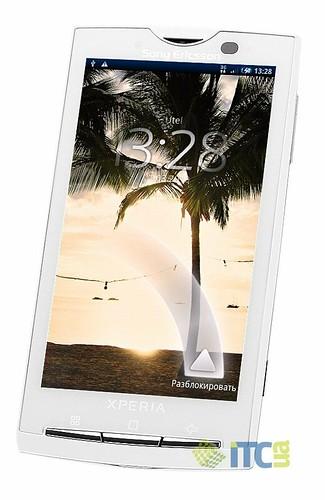 Sony Ericsson XPERIA X10 — прицел в «десятку»