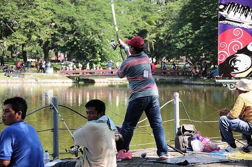 Baling Bang...jangan tak baling... Ikan patin kasi naik...
