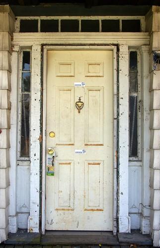 Brainard residence front door
