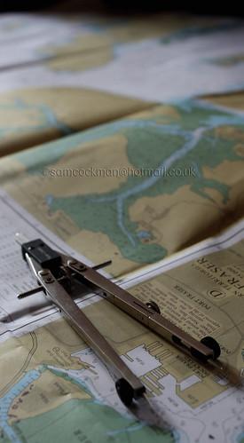 light chart metal canon day sailing maps skipper charts desaturation dividers 450d
