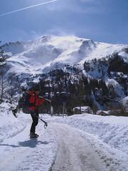 Foehnsturm am Schareck (xrotwang) Tags: skitour rauris hocharn mitdiet jahr2010