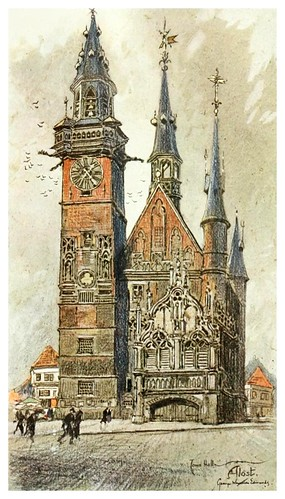 020- Ayuntamiento de Alost en Flandes-Vanished towers and chimes of Flanders 1916- Edwards George Wharton