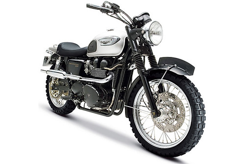 2011 adventure off road motorcycles Triumph Scrambler photo