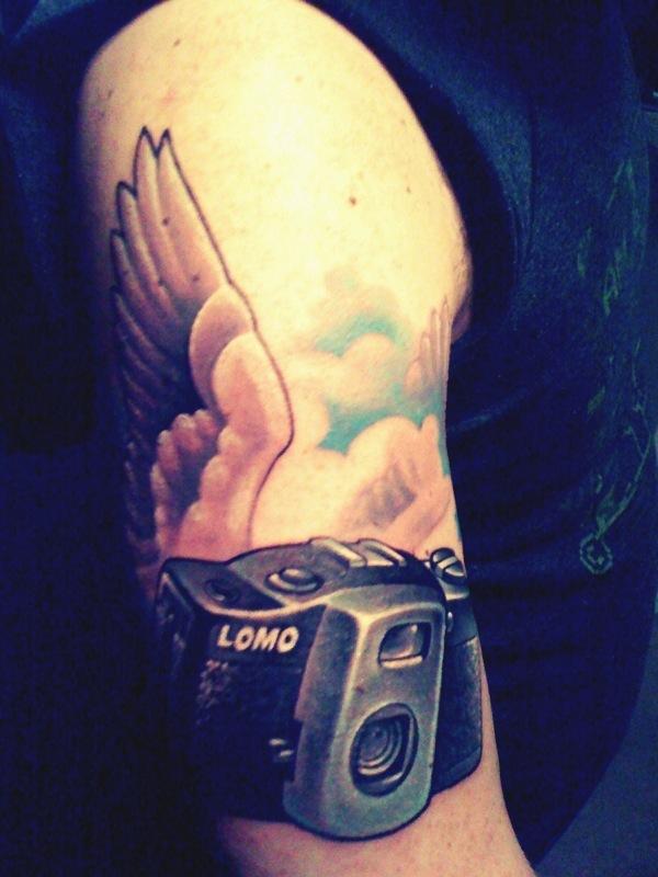Lomo Tattoo for Lomo-Cam