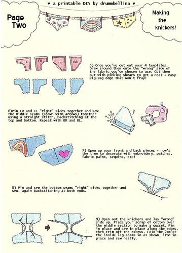 Knickers tutorial — Page Two