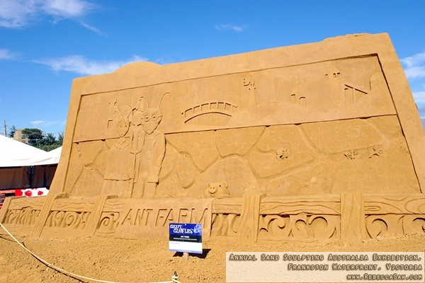 Annual Sand Sculpting Australia exhibition, Frankston waterfront-21