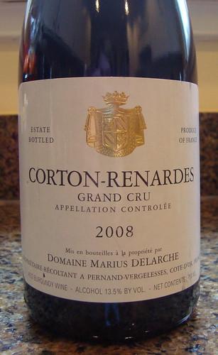 2008 Domaine Delarche Corton-Renardes Grand Cru