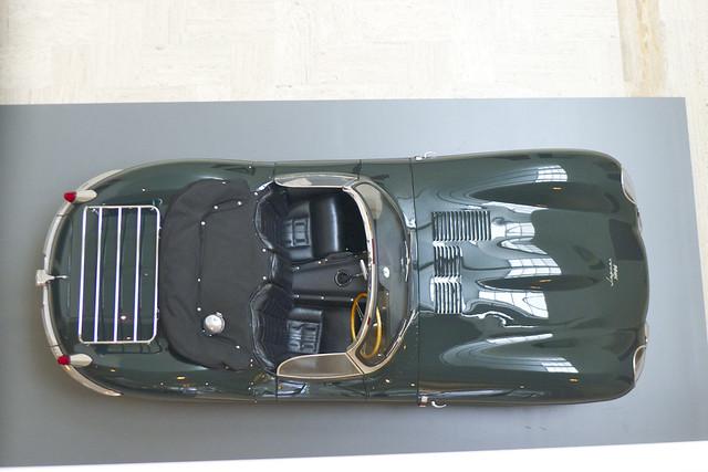 1957 Jaguar XK-SS Roadster ~ Portland Art Museum