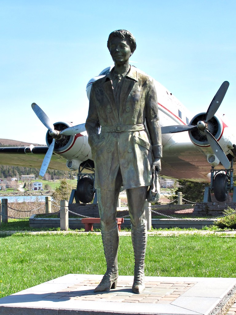Amelia Earhart's state of Grace.