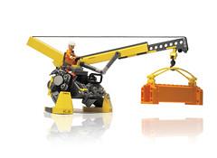MECHA: construct (The Slushey One) Tags: one lego mechanical crane slush slushy mecha slushee 2011 hardsuit slushey