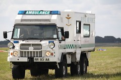 RAF ambulance (sohvimus) Tags: ambulance lincolnshire raf wtn waddington rafwaddington royalairforce emergencyvehicle northkesteven rafwaddingtoninternationalairshow egxw