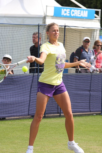 Andrea Hlavackova Aegon International Eastbourne 2011