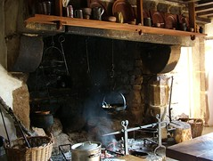 Traditional Jersey cooking range.