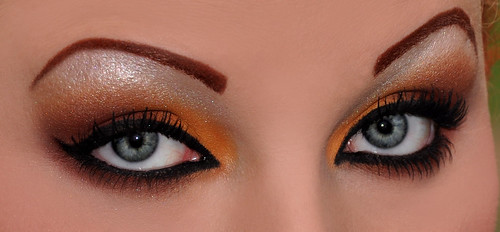 Fall Themed Eyeshadow designs