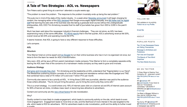 A Tale of Two Strategies - AOL vs. Newspapers_1256786874392
