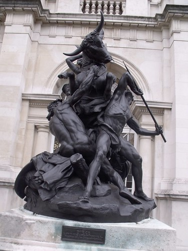 Tate Britain - Dirce by Sir Charles Lawes-Witteronge