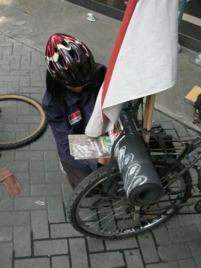 Sepeda Federal Egi Siap tempur