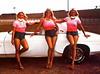 L to R,Lynn Reck,Linda Vaughn and Ellsie Colter (torinodave72) Tags: girl june golden nikki phillips f1 linda nascar firebird marsha miss vaughn pure bennett cochran shifter hurst nhra usac ahra