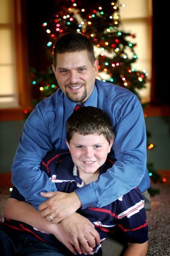 holiday family shoot