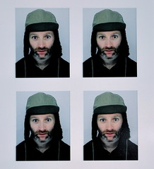 self / do i really look like a extra from fargo? (walnutwax photography) Tags: portrait green london strange face hat self hair beard eyes photobooth photographer photos stuart stare mitchell passport facial fargo watford stuartmitchell walnutwax