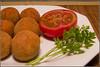 """""""Mis croquetas de jamón"""" (Isabel (La cocina de Frabisa)) Tags: croquetasdejamón"""