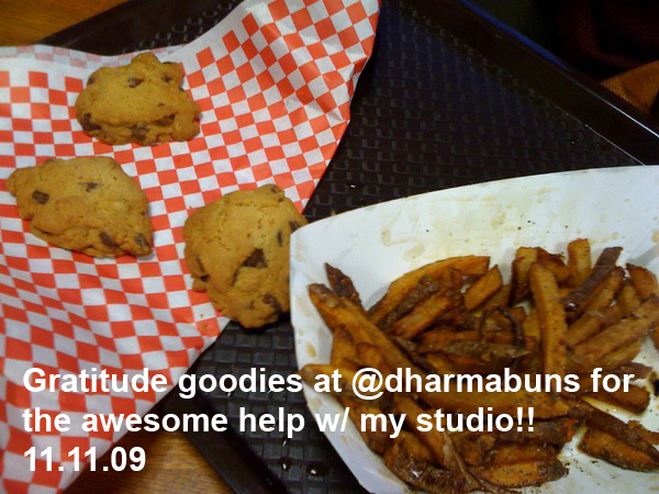 Dharma Buns cookies & fries