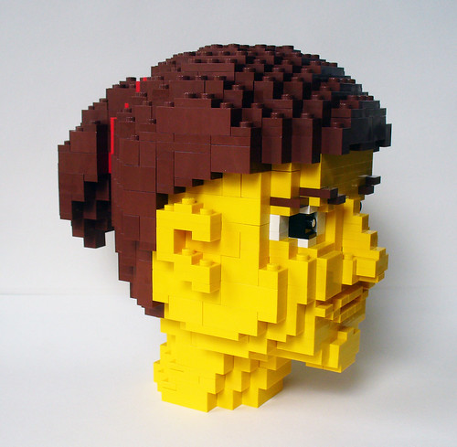 LEGO Girl Head 1