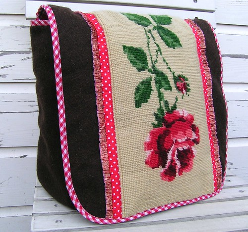 bag, winterrose